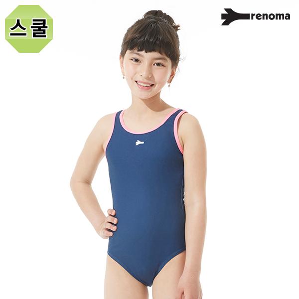 여아동 실내 스쿨 U-BACK 탄탄이 원피스 수영복 (택1)_RN-GS17861
