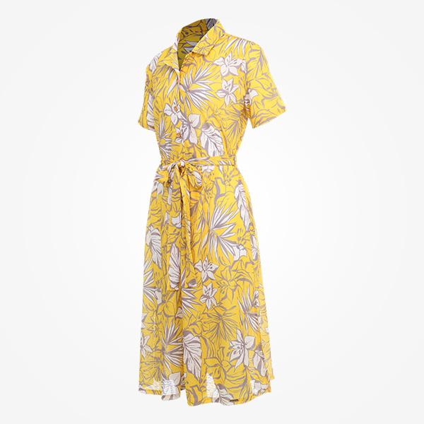 여성 비치 샤프란 셔츠 릴렉스핏 썬드레스_RN-OS20305G